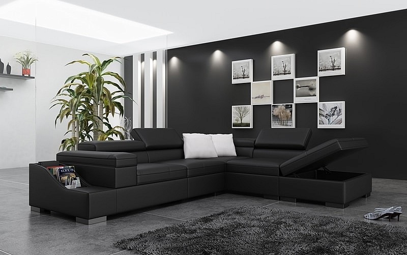 Кожаная мебель: престиж и комфорт